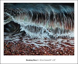 "Breaking Wave 1 - 24"" x 18"""