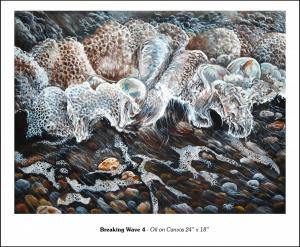 "Breaking Wave 4 - 24"" x 18"""